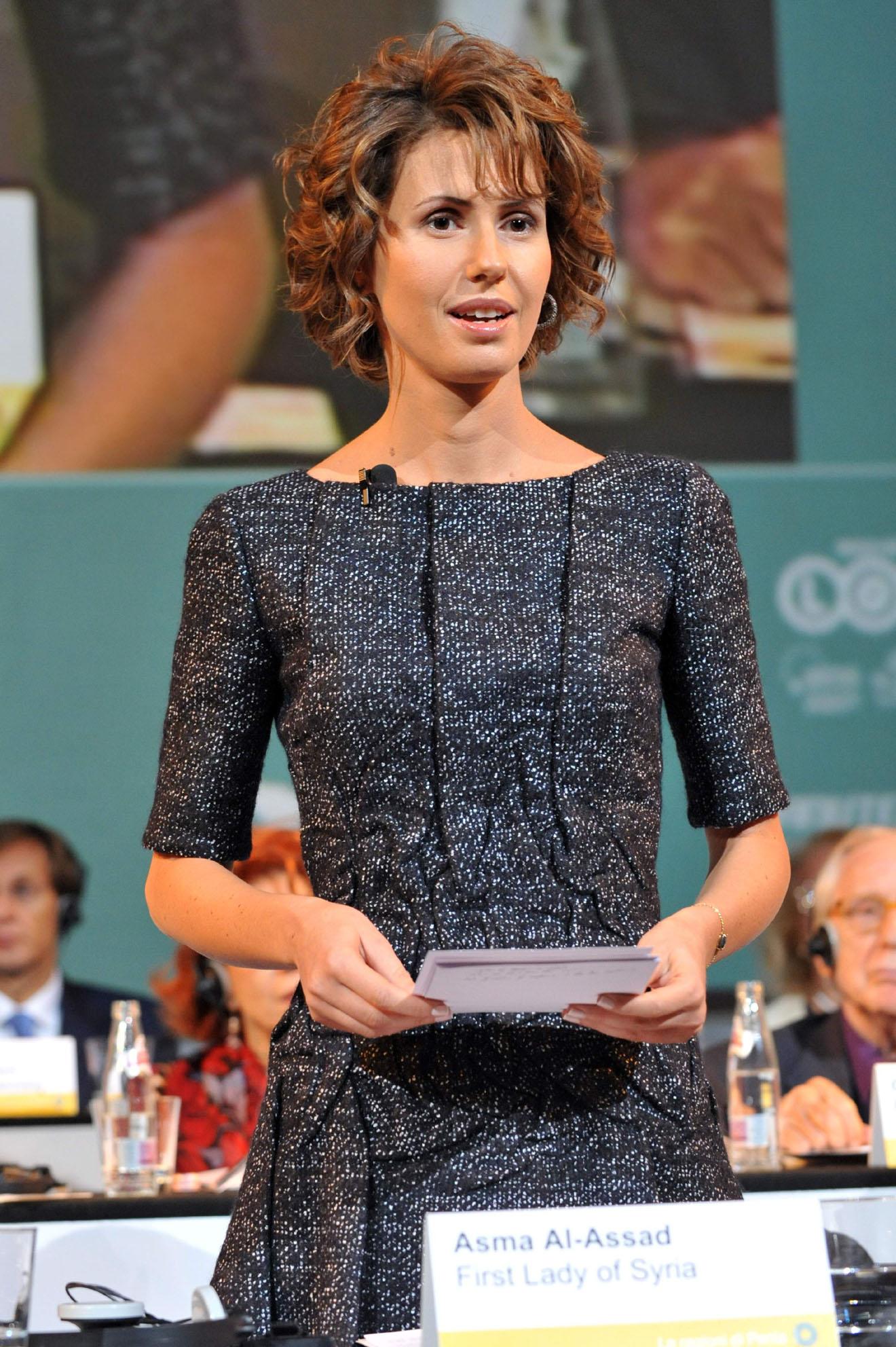 Quando a Rimini Asma al-Assad, first lady della Siria ed ...